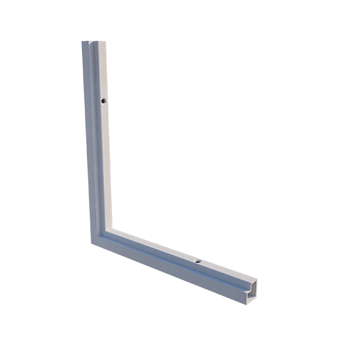 L-Corner for projection screen