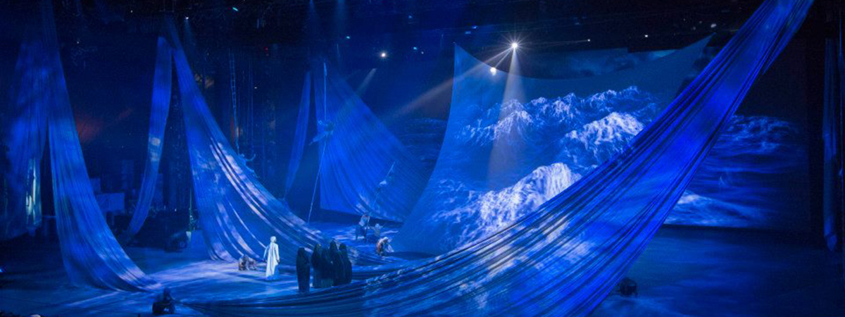 Dragone Chooses Projection Screen By Showtex