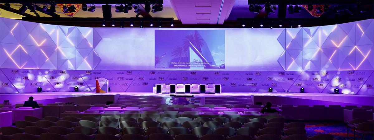 Global Business Forum 3d Stage Design