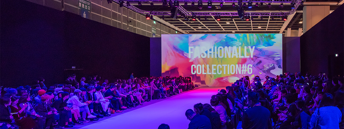 Hk Fashion Week 2016 Over 200 M Of Av Drop Backdrop Up To