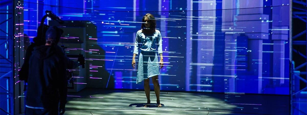 Pepperscrim Gauze For Large Scale 3d Hologram Projection