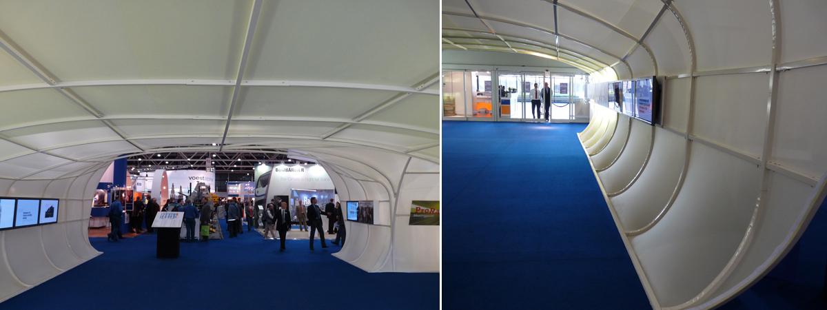 Rail tech europe showtex for Miroir projector stand