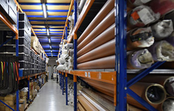 picture of a ShowTex warehouse