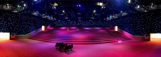 Attractive LED Star Curtains