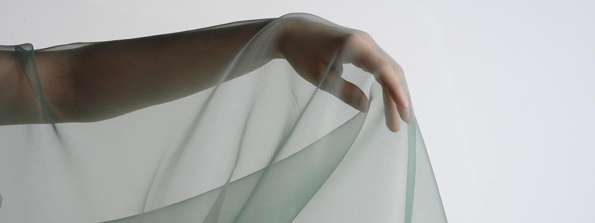 Organza - sheer fabric