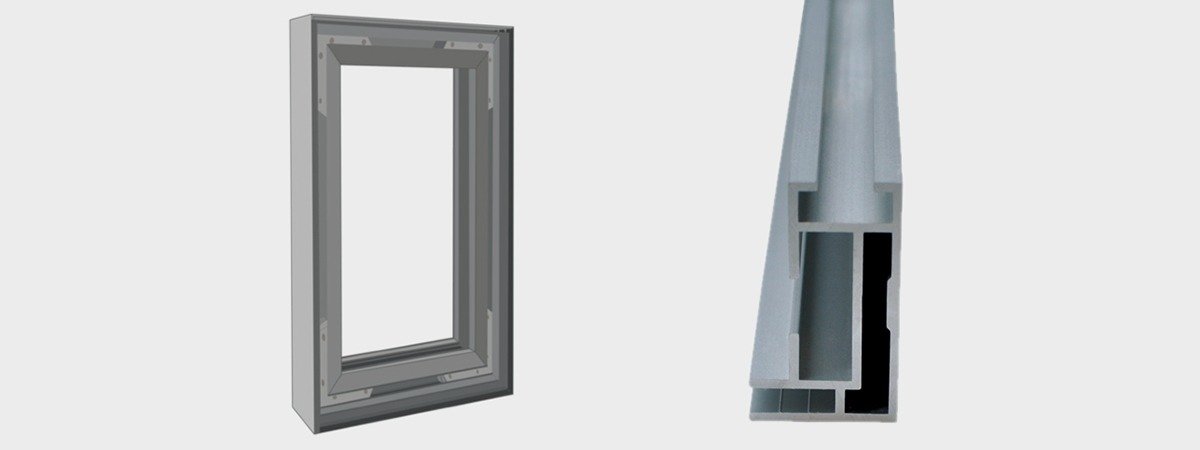 Single Frame - aluminium frame