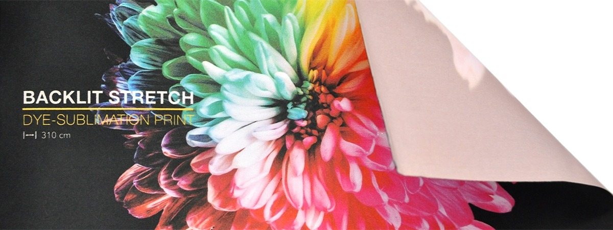 Backlit Stretch Print - printed fabric
