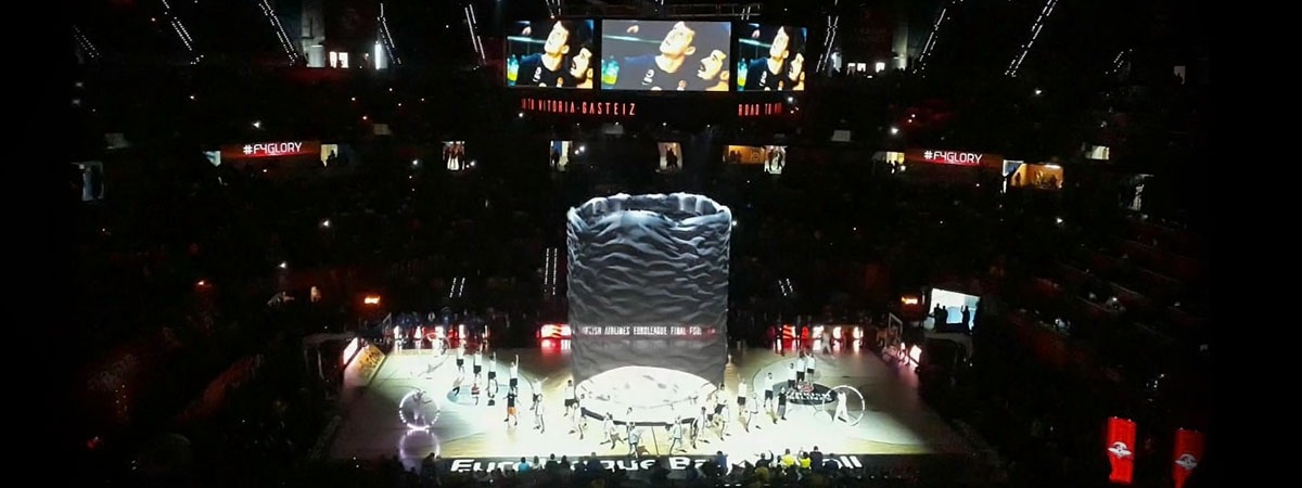 Final Four Euroleague - curtain drop