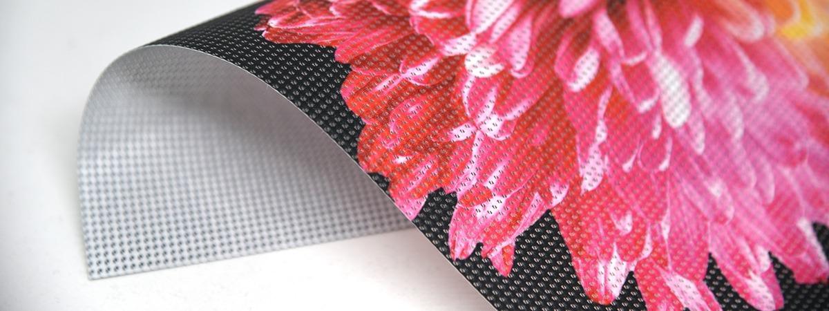 FP XL Mesh Print - printed mesh