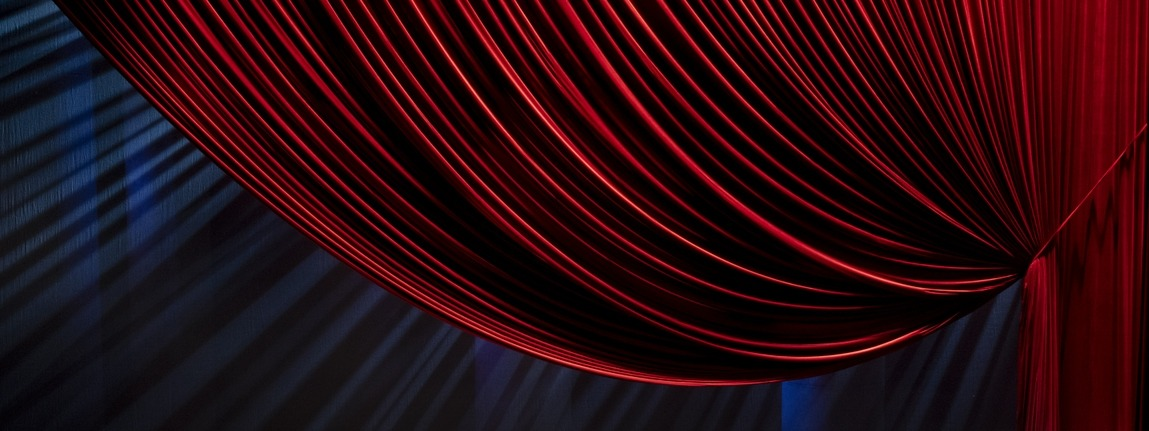 Sheikh Jaber Al-Ahmad Cultural Centre - opera curtains - stretchvelours