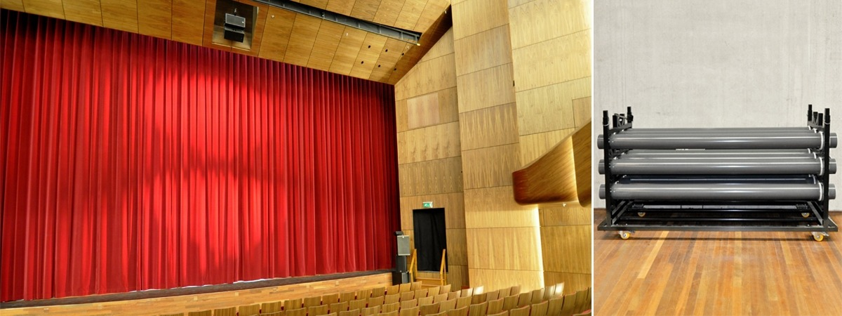 De Kom: Stage curtains & curtain tracks by ShowTex