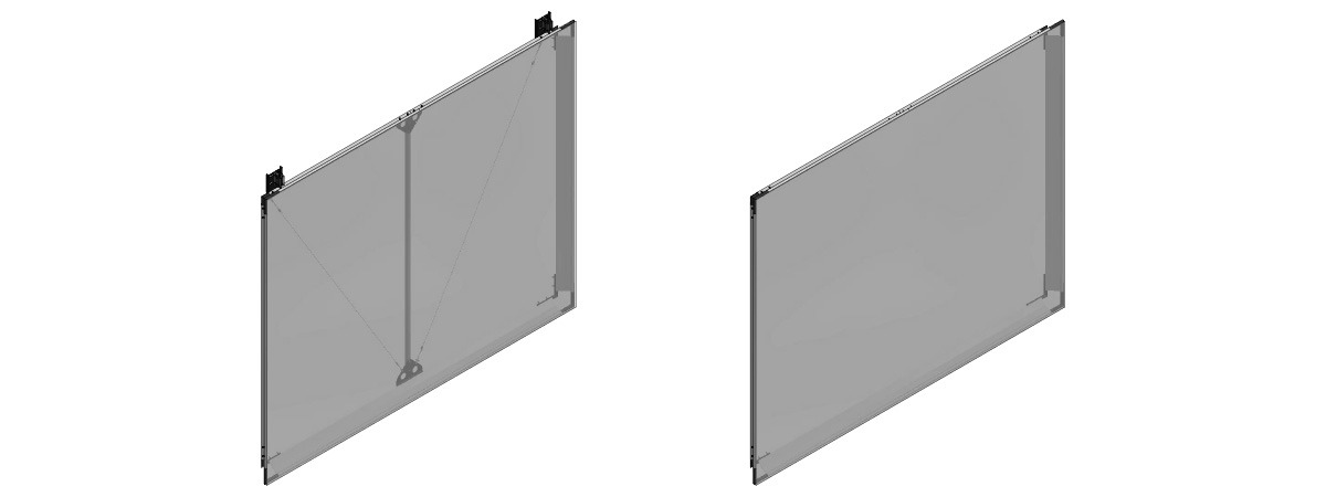 Screen Frame - projection fabric