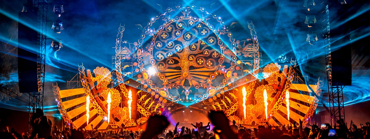 Mysteryland - decorative fabric