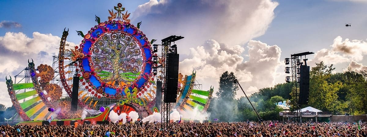 Mysteryland - stretch fabric