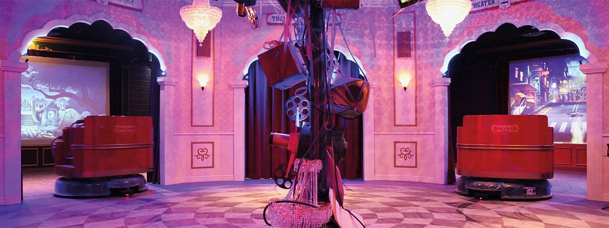 Popcorn Revenge Walibi - ChainTrack & Velours curtains