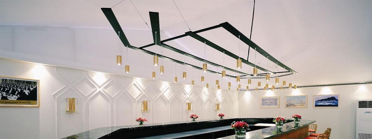 DekoMolton - fabric ceiling
