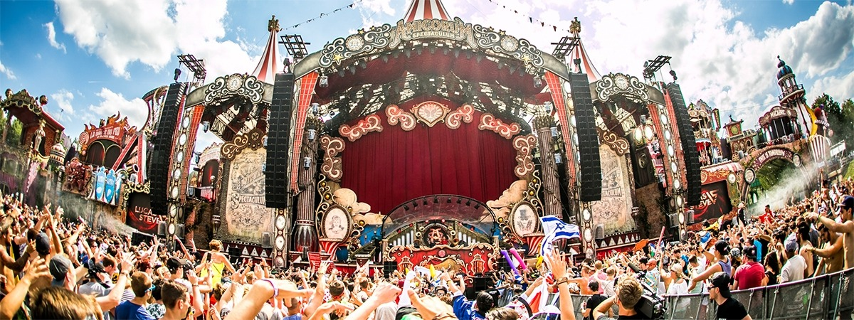 Tomorrowland - velvet curtain