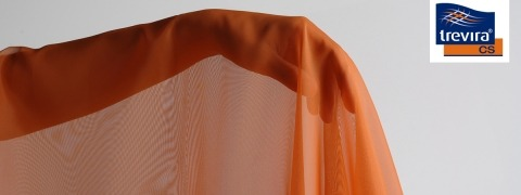 Voile CS Colour - inherently flame retardant voile