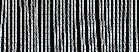 Spaghetti Budget - budget string curtain