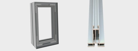 Double Frame - aluminium frame