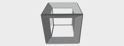 Cube Frame - aluminium frame