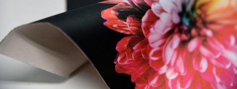 Backlit Stretch Print - printed fabric