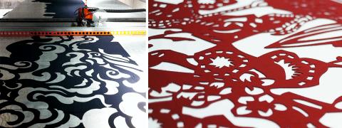 Laser-cut Fabrics