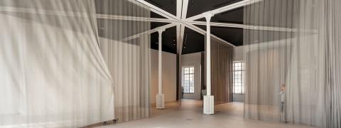 maison de la laïcité - acoustic curtains