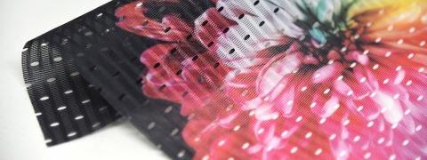 Speaker Mesh Print - printed mesh
