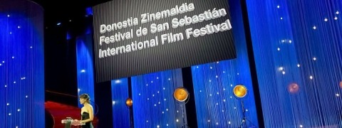 San Sebastián Film Festival - string curtains