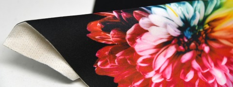 Velours Transsonic CS Print - printed fabric