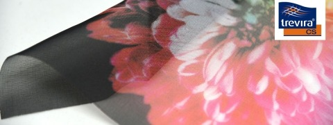 Voile CS Print - printed sheer fabric