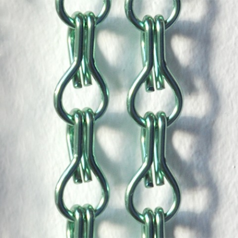 Green chain curtain